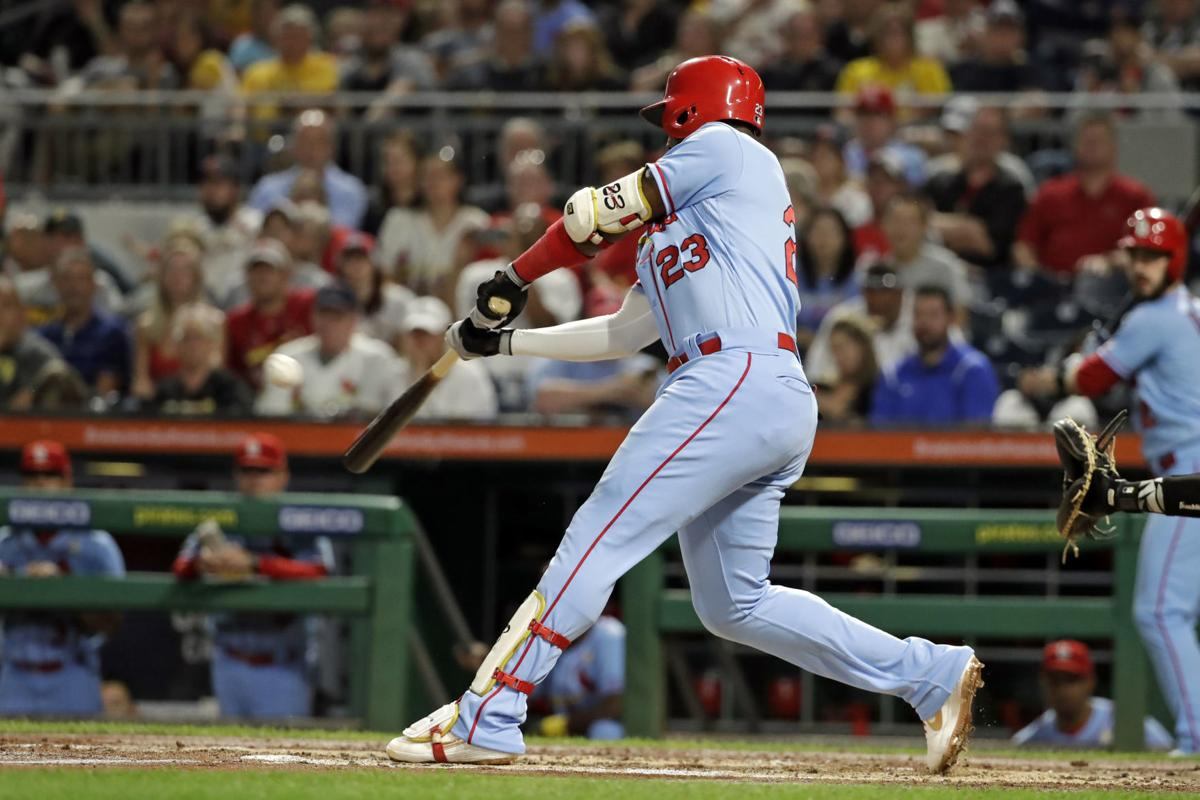 Ozuna wants spot in Cards' crowded outfield next season