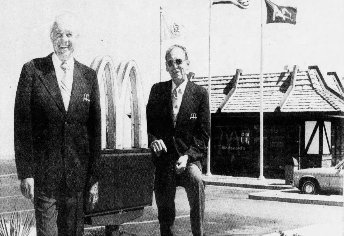 Bill Wyatt and partner Don Kuehl