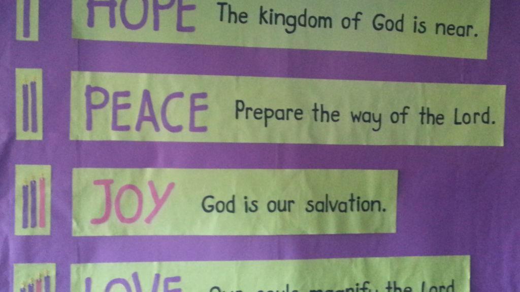 Advent Calendar Bulletin Board : Advent bulletin board stltoday