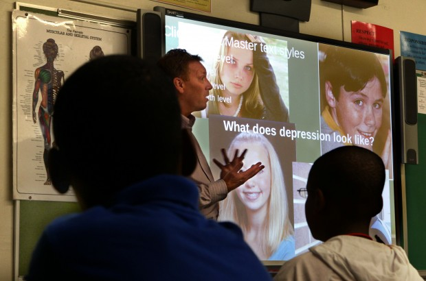 Suicide prevention brought to area schools