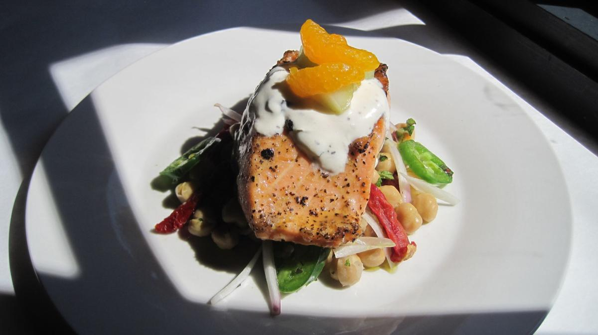 Special Request: Flavors of California, Italy meld in salmon dish at Eleven Eleven Mississippi
