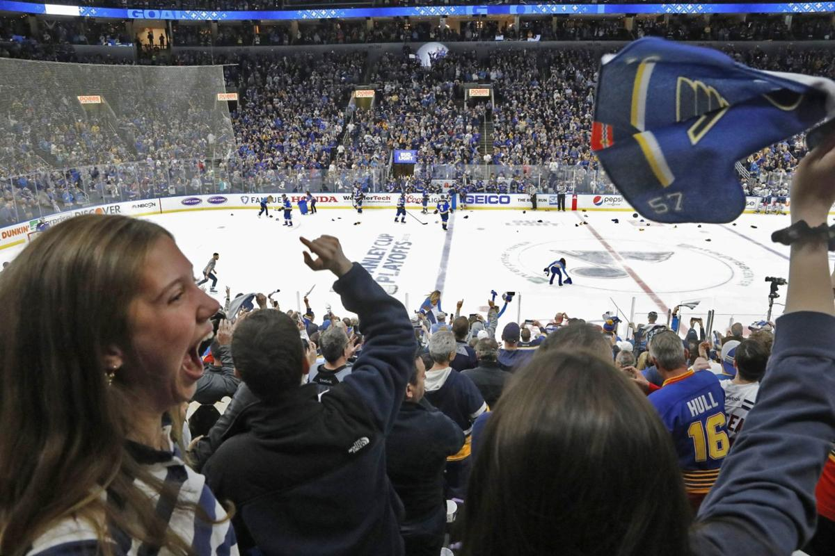Photos: Blues advance in Stanley Cup playoffs