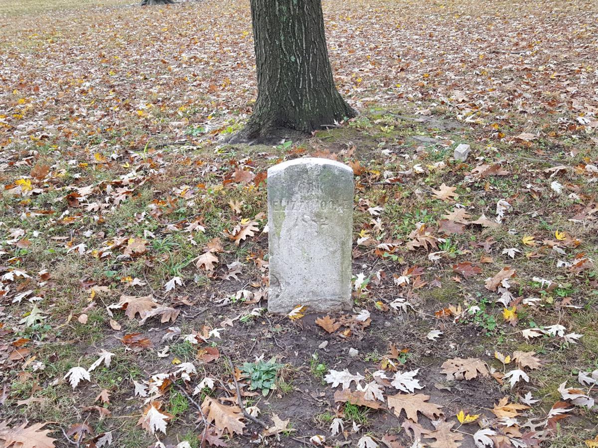 Eliza Hoole headstone