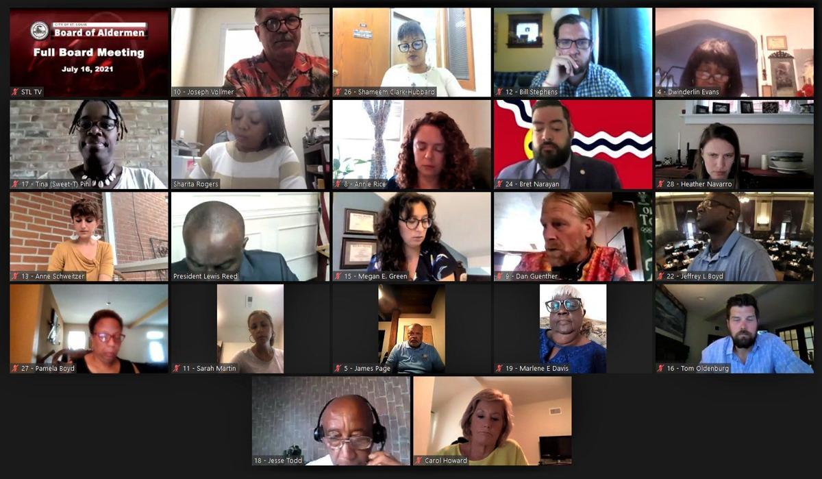 St. Louis Board of Aldermen, 07-16-21
