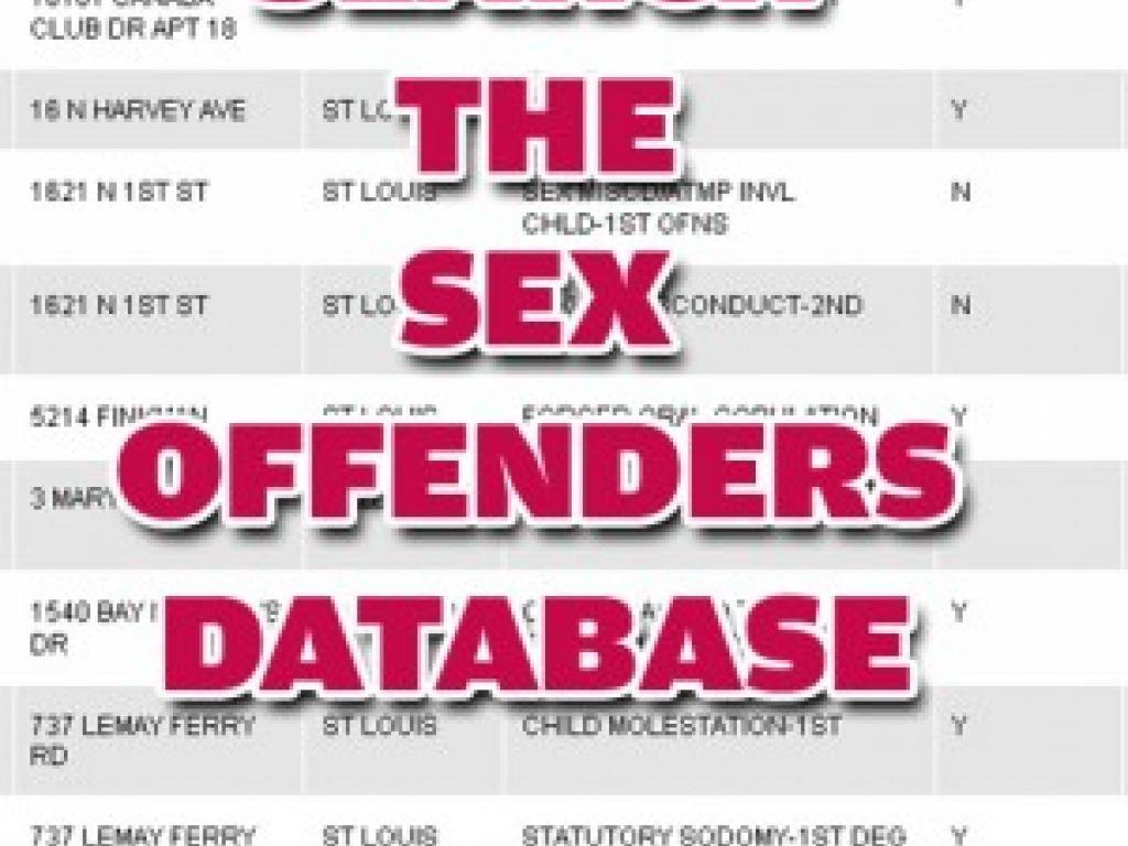 sexual predators by neighborhood