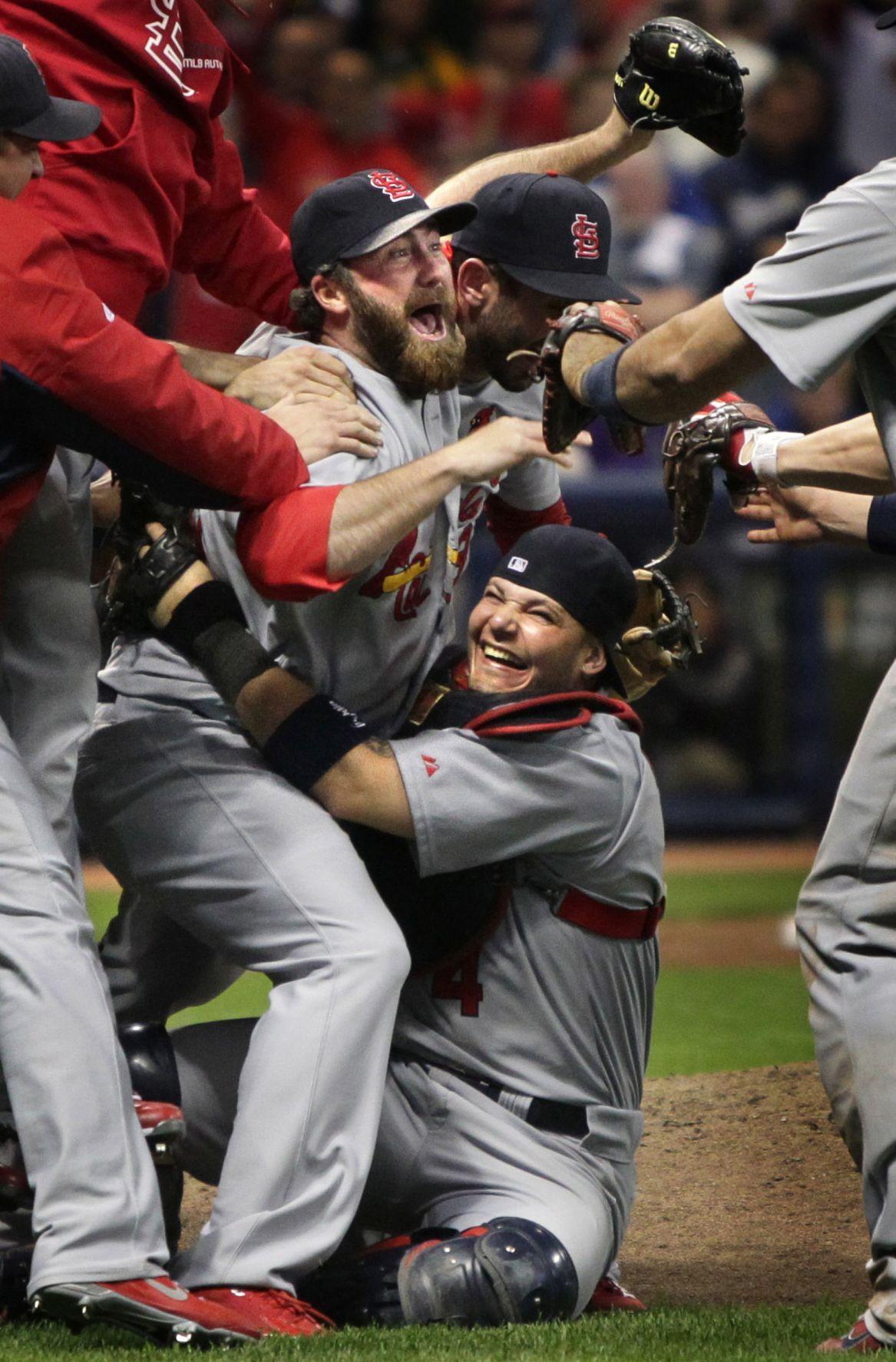 Cardinals win the pennant