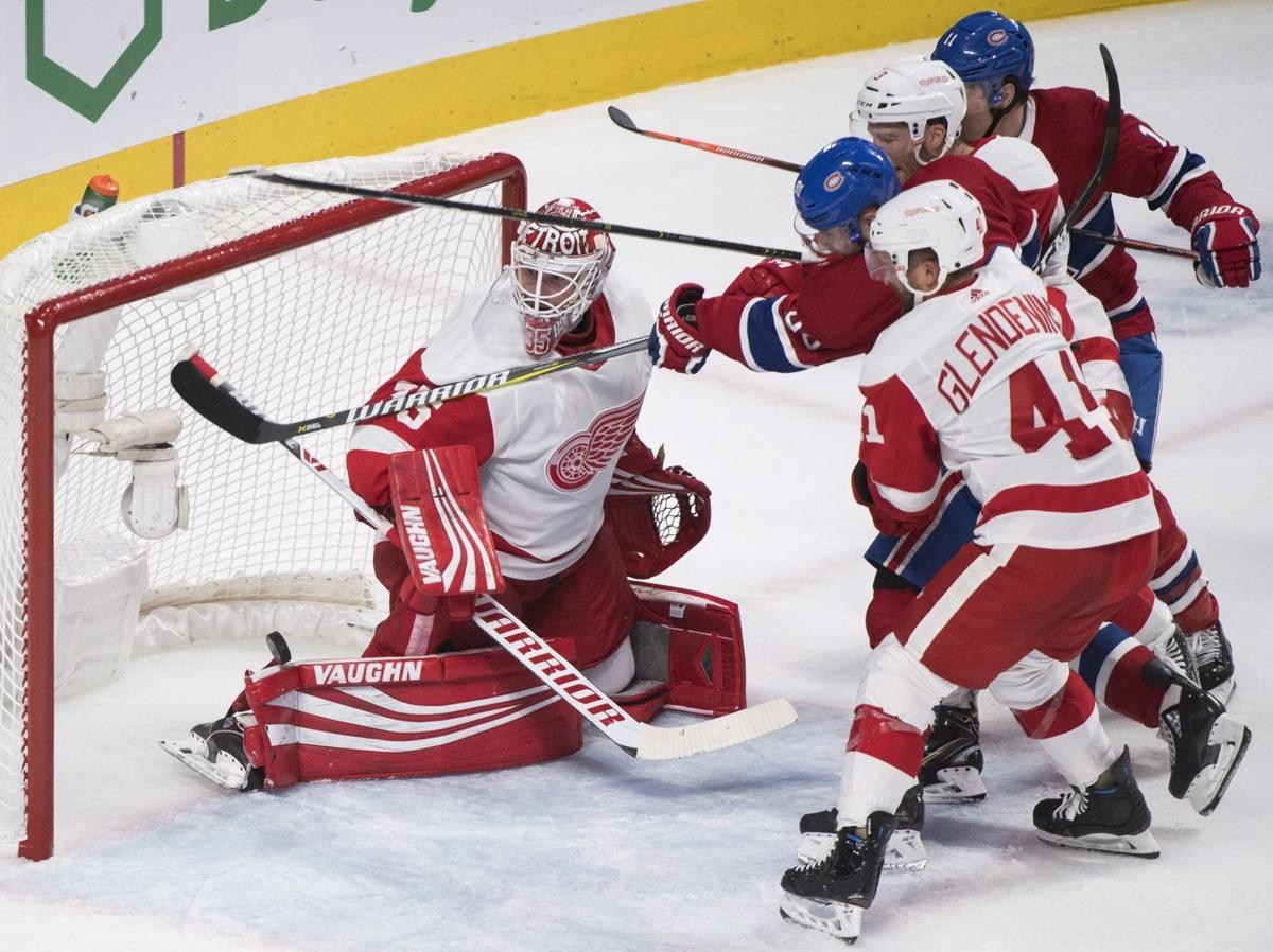 NHL: Canadiens smack Red Wings