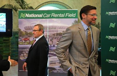 Proposed riverfront stadium gets a name: National Car Rental Field