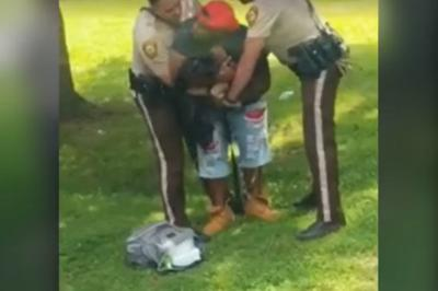 County police say video of arrest is misleading