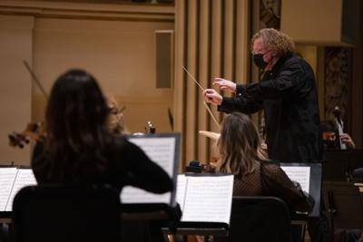 Stephane Deneve conducts the SLSO, 10/16/20