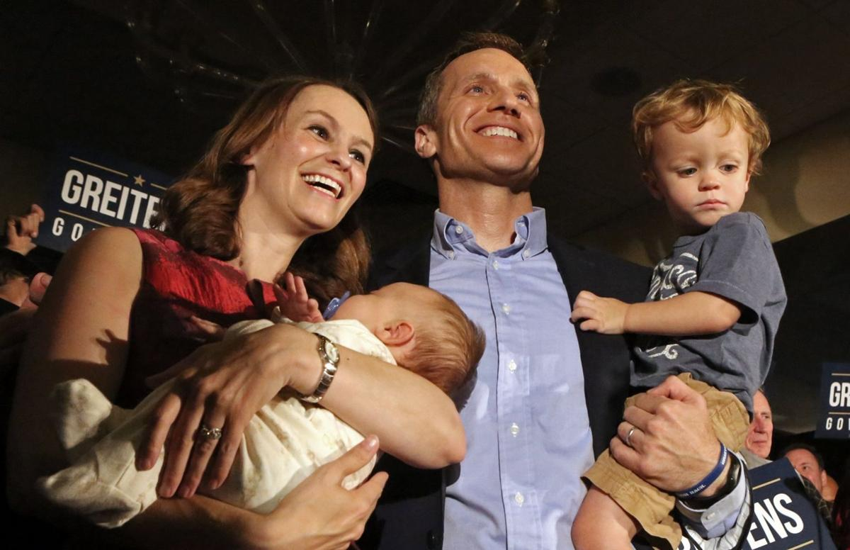 Greitens fans wait for results in Chesterfield