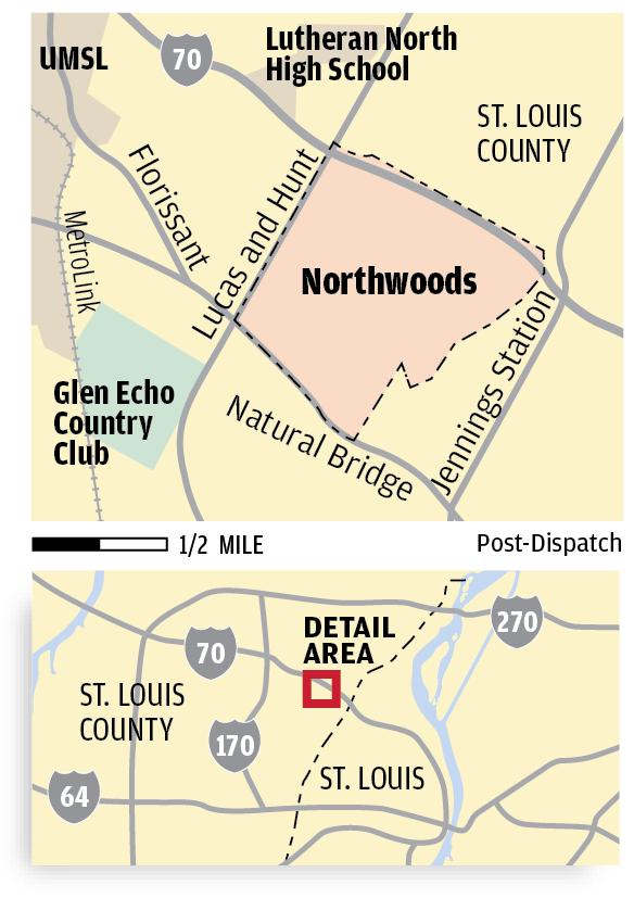 Northwoods locator map