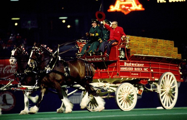 Memorial Day Car Sales >> August A. Busch Jr. and Clydesdales at Busch Stadium : News