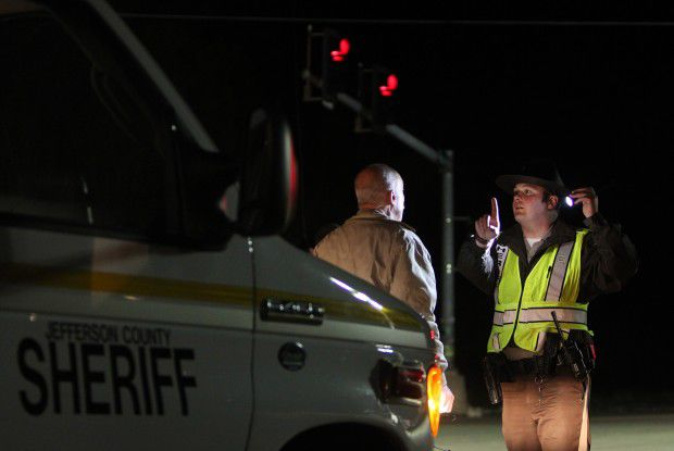 Jefferson County Sheriff's sobriety checkpoint