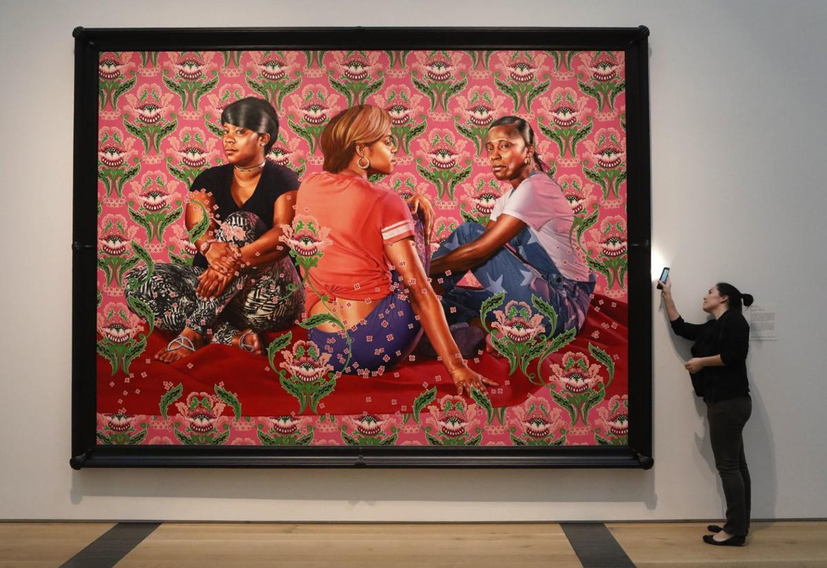 Kehinde Wiley exhibit opens at SLAM