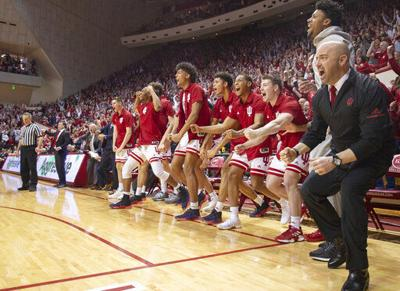 80431c3d976 College basketball: Indiana stops No. 6 Michigan State; Washington U ...
