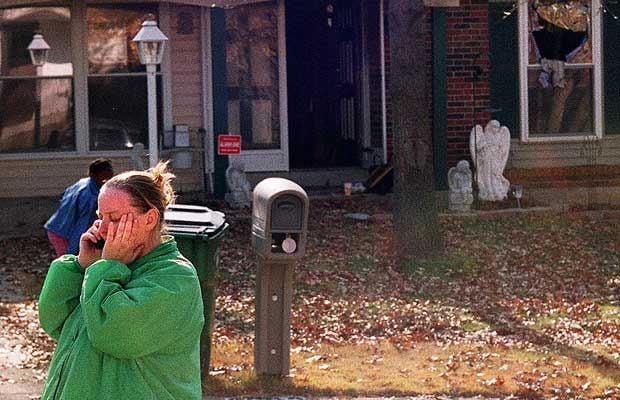 Fatal fire in 2001 in Florissant