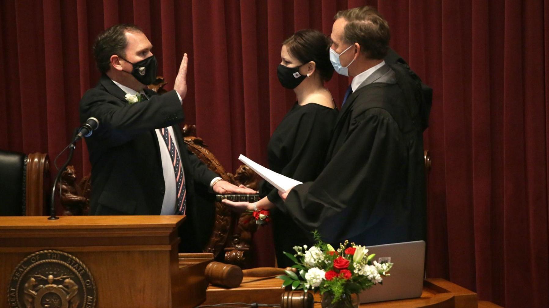 Here's your Missouri Legislature: New lawmakers sworn in as virus hangs over proceedings