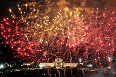 Fair St. Louis Fireworks