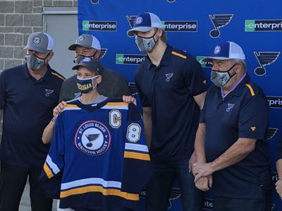 Blues Warrior Hockey team gets its uniforms