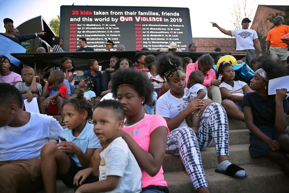 Vigil for slain 8-year-old turns into call for action in St