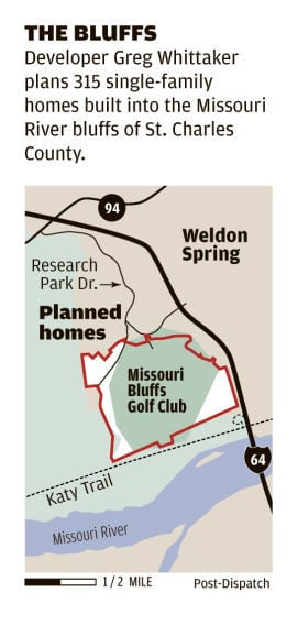 The Bluffs map
