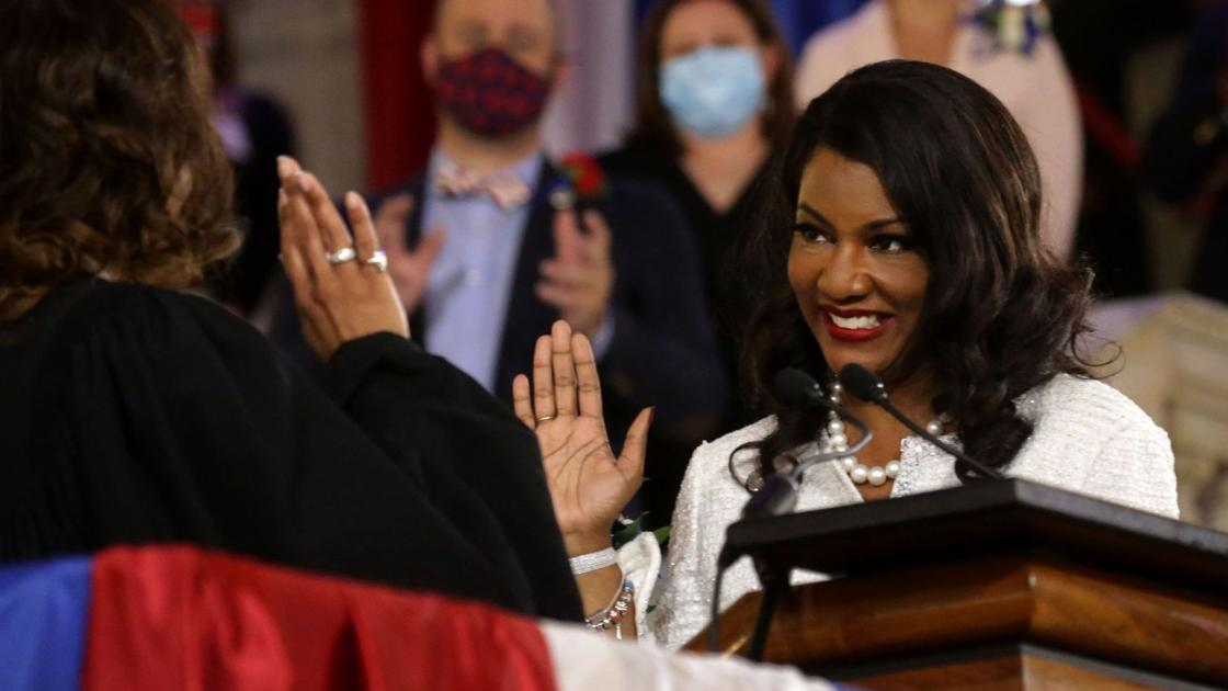 Photos: Tishaura Jones sworn-in as 47th mayor of St. Louis