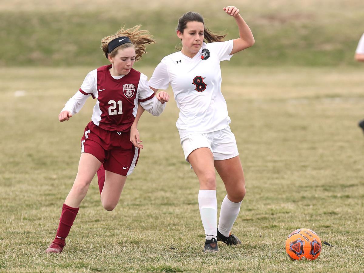 Wood River vs. Wesclin girls soccer