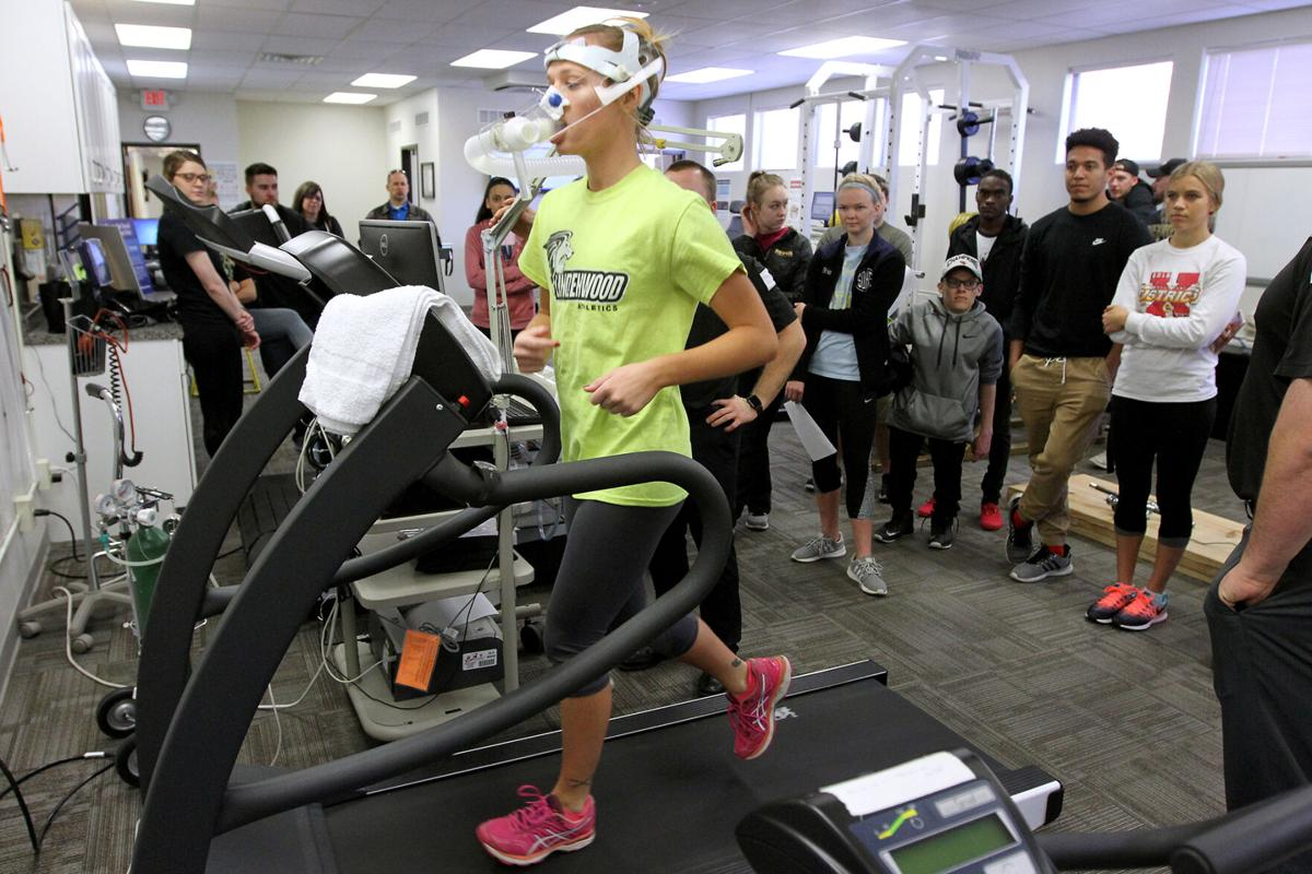 Lindenwood students are active participants in health sciences research. Photo provided by Lindenwood University