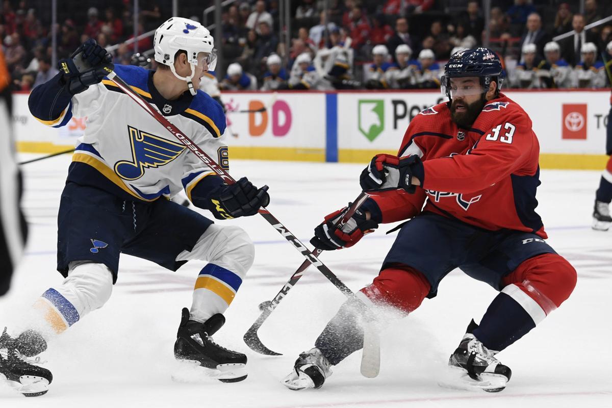 Blues Capitals Hockey
