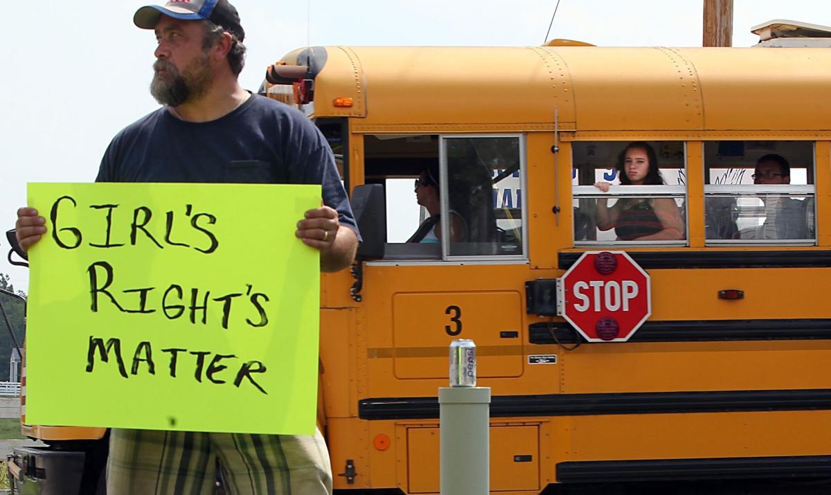 Hillsboro High students walk out over transgender dispute