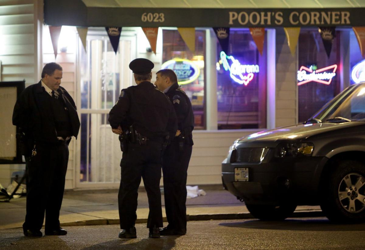 Six people shot during attempted robbery Pooh's Corner bar