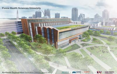 Ponce Health Sciences University rendering