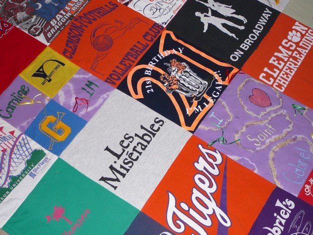 Made in St. Louis: Crafter makes quilts made from T-shirts | Home ... : quilts made from tee shirts - Adamdwight.com