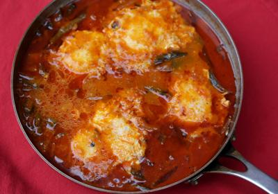 Eggs Poached in a Chile-Tomato Broth