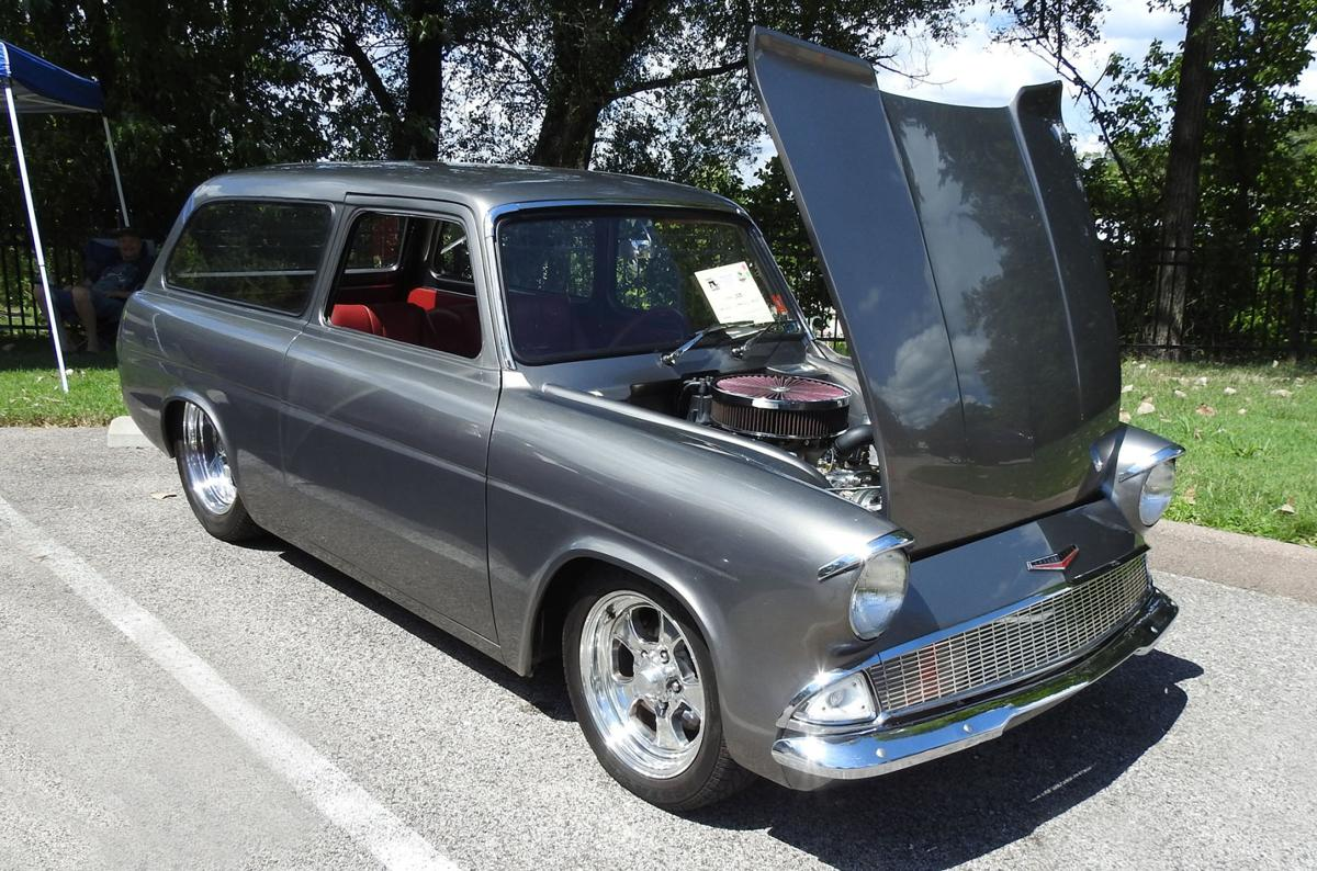 Tiny english ford anglia was stuffed with a big v 8 engine brandavestudios stltoday com