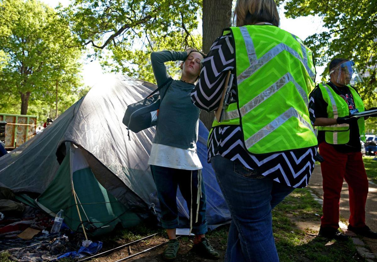 St. Louis city to end ecampment of homeless downtown