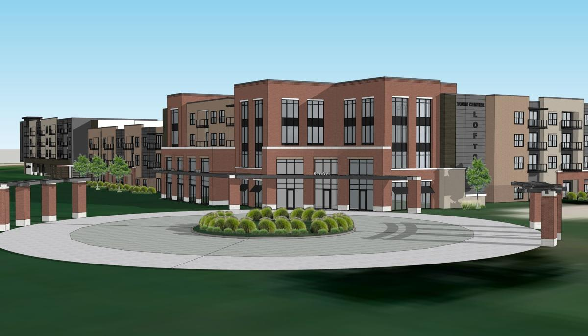 Virtual Rendering of Commercial Retailers Coming to Trace on the Parkway.
