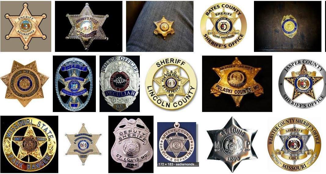 sheriffs' badges