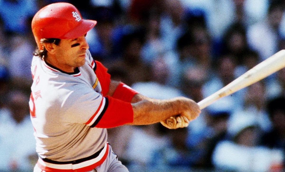 Cardinals Slugger Jack Clark In 1987 Photo By J B Forbes Jforbes Post Dispatch