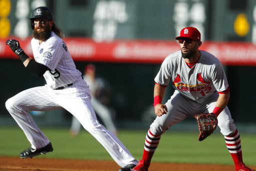 Cardinals get an eyeful of Rockies in 10-0 loss | St. Louis Cardinals | stltoday.com