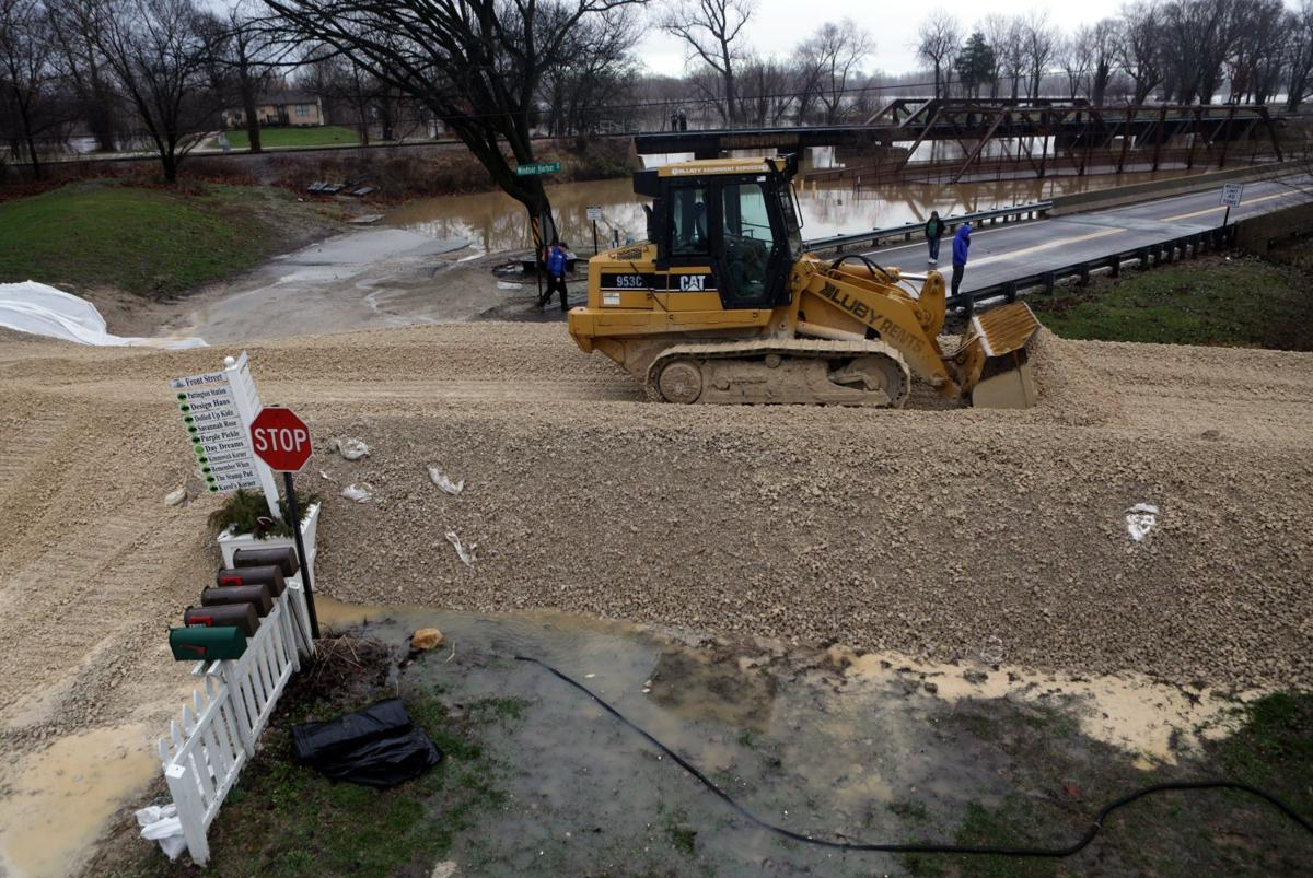river crests in st louis area could reach heights second only to