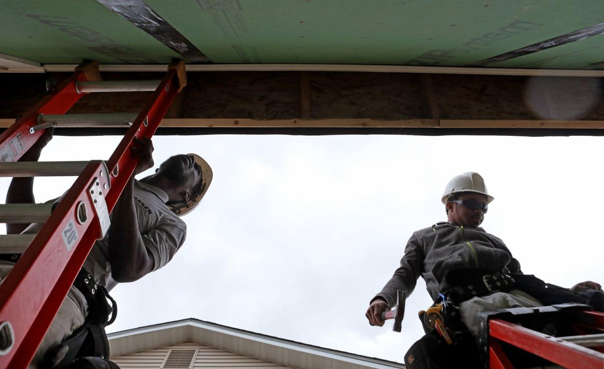 Ranken students build homes to sell
