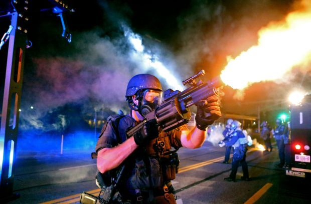 Monday protests in Ferguson