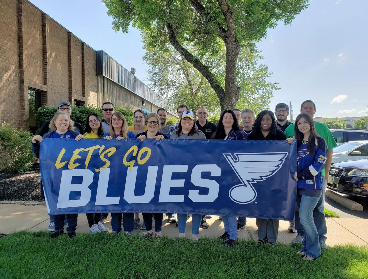 N-STORE Services Celebrates Blues Hockey