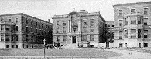 St. Luke's Hospital in 1905