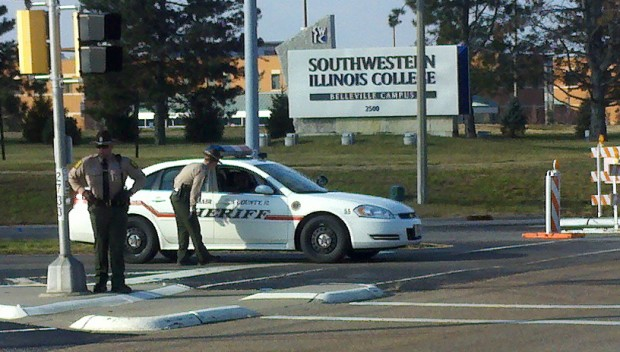 Police Find No Danger At Southwestern Illinois College