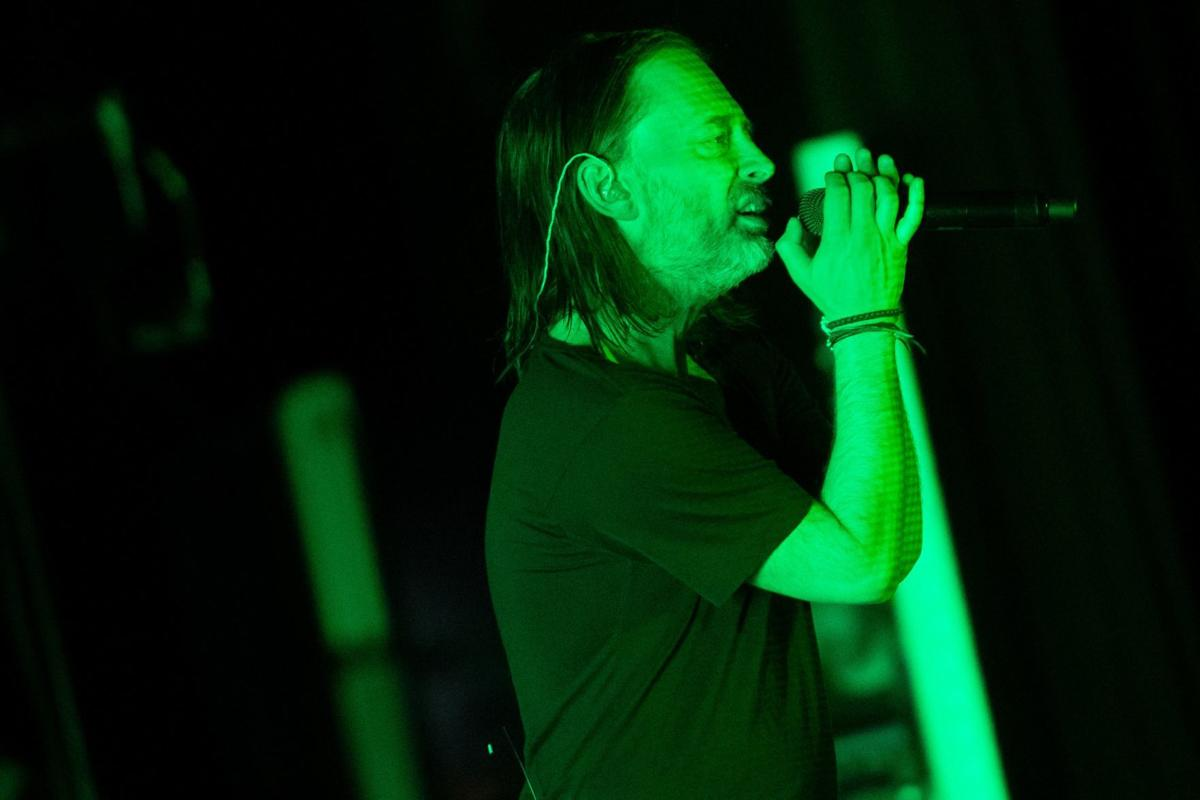 Thom Yorke delivers a feast of sounds, sights during Stifel Theatre show