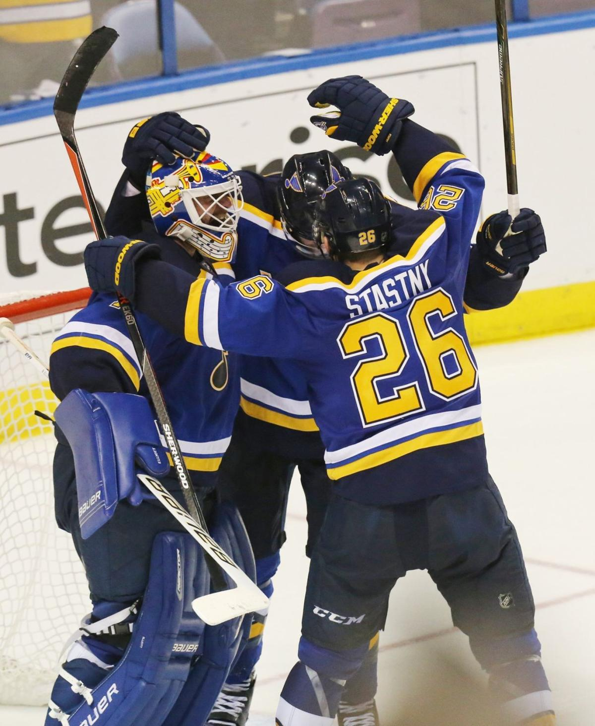 368c1d912 Blues host critical game seven with the Blackhawks