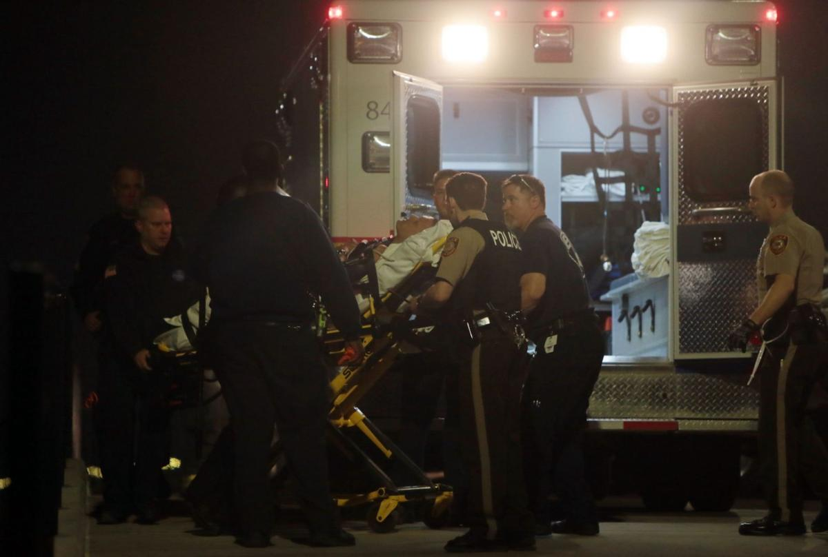 Two officers shot
